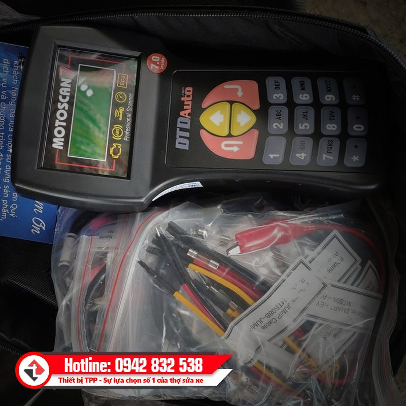 May Motoscan Thiet Bi Doc Xoa Loi Xe May Fi Full Box Chinh Hang Vn Toan Quoc