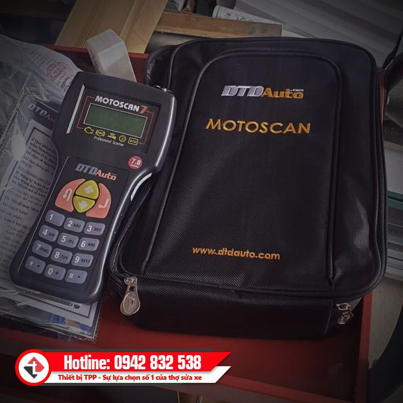 Motoscan 7 May Doc Xoa Loi Ecu Xe May Phun Xang Dien Tu Fi 2020 Gia Re Hcm