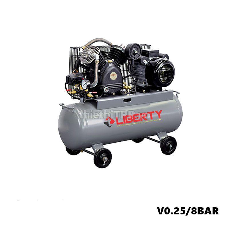 May Nen Khi Piston Liberty 3hp 1 Cap 100 Lit V0 25 8 Bar