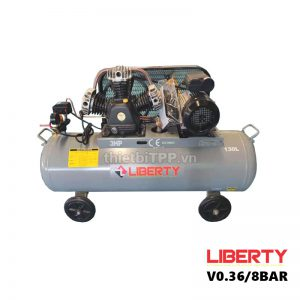 May Nen Khi Piston Liberty 3hp 2 Cap 130 Lit V0 36 8 Bar