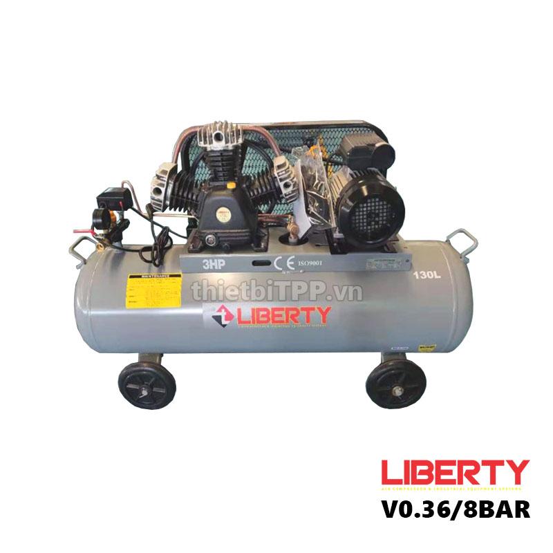 máy bơm hơi, máy nén khí 130 lít, máy nén khí V.036/8BAR, máy nén khí mini, máy bơm hơi khí nén