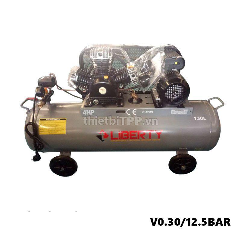 May Nen Khi Piston Liberty 4hp 2 Cap 130 Lit V0 30 12 5 Bar