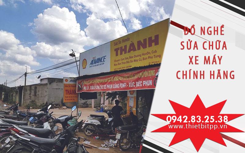 Bộ đồ nghề sửa chữa xe máy tốt cho tiệm sửa xe