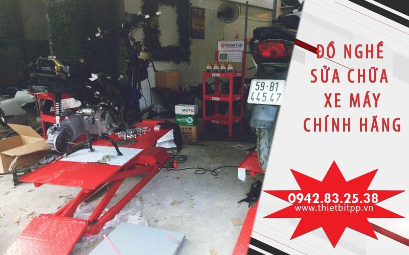 bộ đồ nghề sửa chữa xe máy tốt, thiết bị sửa chữa xe máy chính hãng, ban nang xe may, may doc loi xe may, may suc rua kim phun