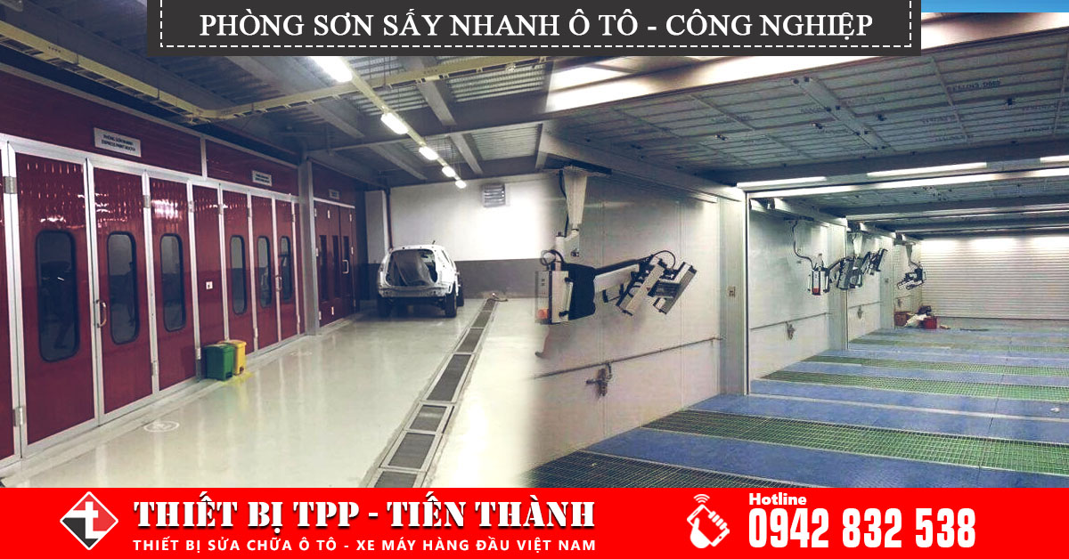 Phong Son Nhanh Say Hap Oto Go Cong Nghiep Chat Luong Cao Gia Re