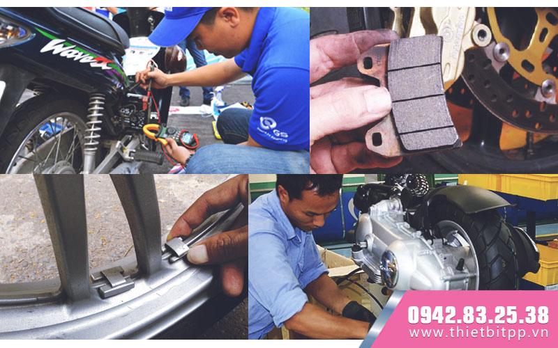 dịch vụ chăm sóc bảo dưỡng sửa chữa xe máy