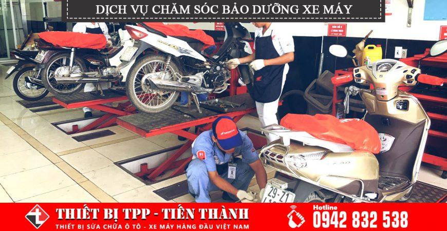Dich Vu Cham Soc Bao Duuong Xe May Trong Cac Tiem Sua Chua Xe May