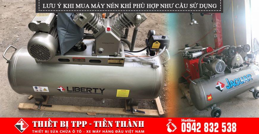 Luu Y Khi Mua May Nen Khi Phu Hop Voi Nhu Cau Su Dung, máy nén khí, máy bơm hơi, máy nén khí piston, máy nén khí công nghiệp, máy nén khí khoonh dầu