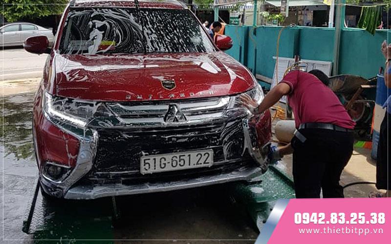 quy trình rủa xe hơi theo chuẩn