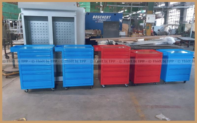 tủ đồ nghề sửa chữa ô tô, tủ dụng cụ 5 ngăn, tủ dụng cụ sửa chữa ô tô 7 ngăn