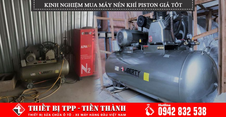 kinh nghiệm mua máy nén khí piston, máy nén khí piston, máy nén khí