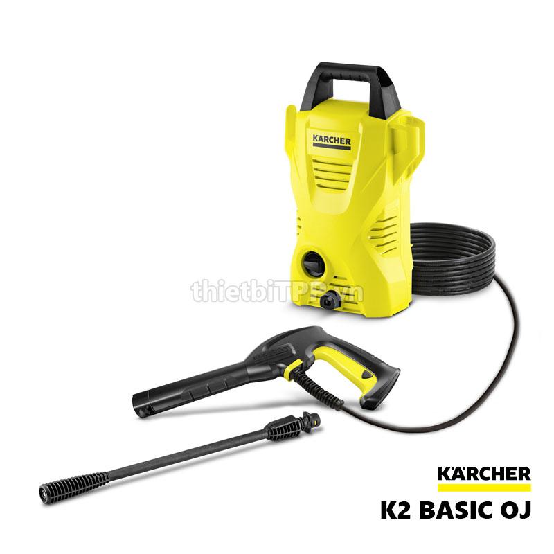 May Rua Xe Mini Gia Dinh Karcher K2 Basic Oj