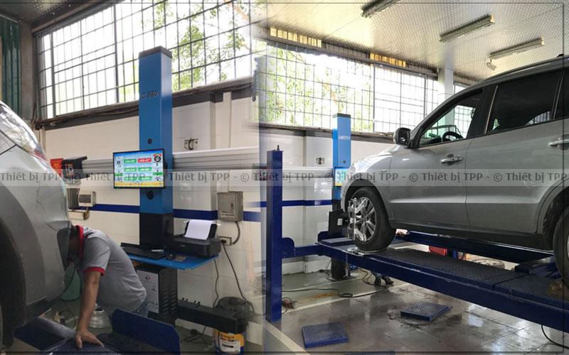 máy cân chỉnh thước lái, bán máy cân chỉnh độ chụm, máy cân chỉnh độ chụm bánh xe ô tô