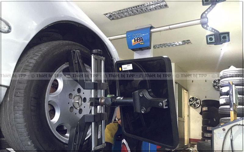 máy cân chỉnh độ chụm, máy cân chỉnh lốp ô tô
