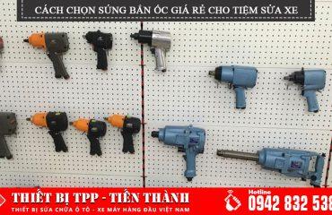 Cach Chon Sung Ban Oc Gia Re Tieu Chuan Cho Tiem Sua Xe, súng bắn ốc xe máy, súng xiết bu lông
