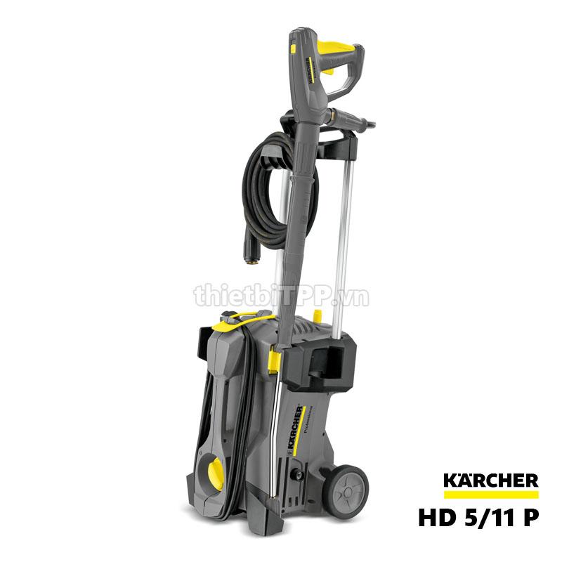 máy rửa xe Karcher HD 5/11 P, máy xịt rửa xe cao áp, máy phun rửa áp lực cap, máy rửa xe cao áp