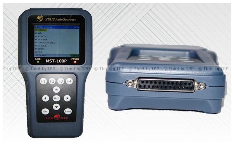 máy đọc lỗi xe máy mst100p, máy test lỗi xe máy mst100p