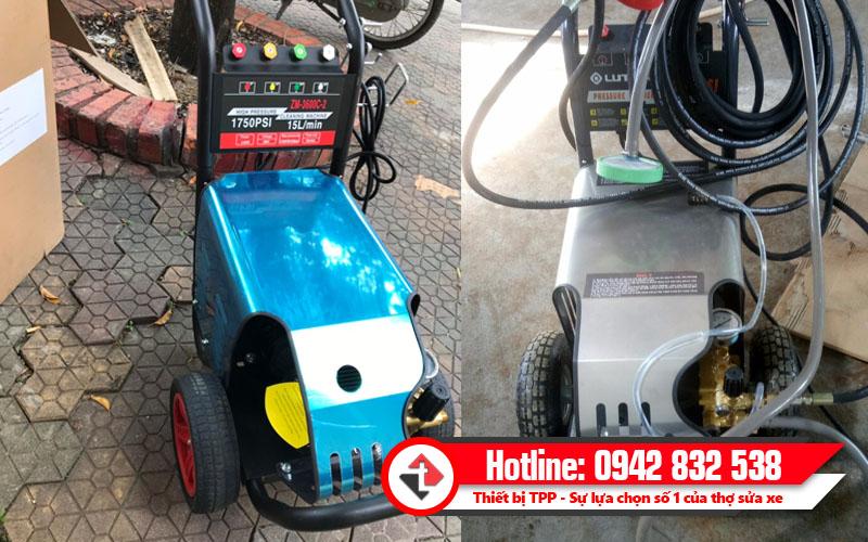 máy rửa xe cao áp được nhiều người sử dụng, máy rửa xe cao áp rửa xe ô tô, máy rửa xe cao áp hiện đại