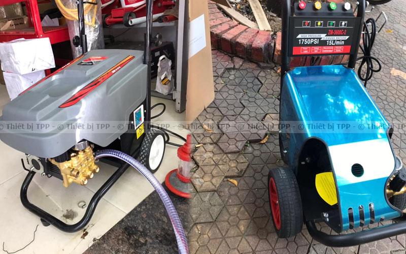 thiết bị máy rửa xe cao áp, các loại máy rửa xe cao áp, máy rửa xe cao áp mini