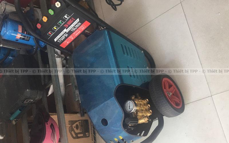 máy rửa xe cao áp mini, máy rửa xe cao áp gia đình, máy rửa xe cao áp dây đai
