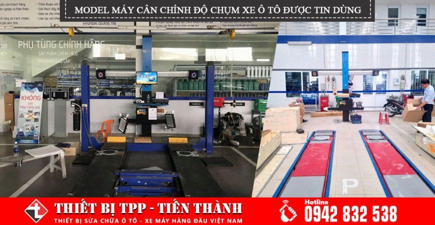 Model May Can Chinh Do Chum Xe Oto Duoc Cac Gara Chuyen Lop Tin Dung