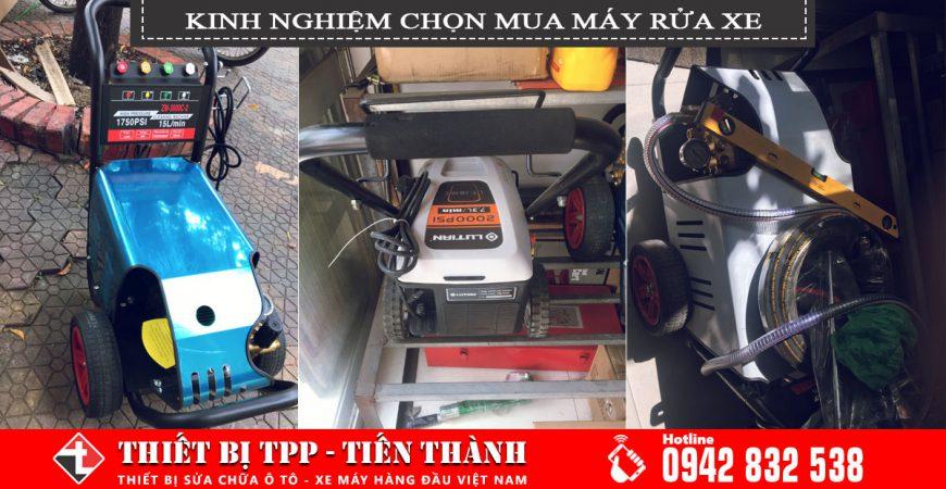 kinh nghiệm cọn mua máy rửa xe, máy rửa xe cao áp đa dụng, máy rửa xe cao áp project