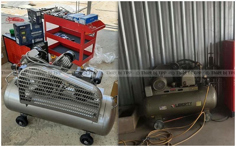 máy nén khí piston, máy nén khí piston bị nóng, máy nén khí