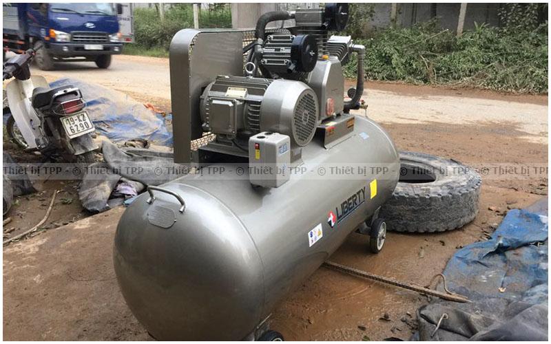 máy nén khí bị nóng, máy nén khí, máy bơm khí nén, máy nén khí piston