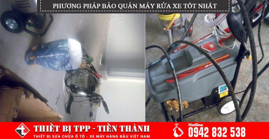 Phương pháp bảo quản máy rửa xe cao áp, máy rửa xe chuyên rửa xe ô tô, máy rửa xe chuyên rửa xe máy, máy rửa xe áp lực loại tốt