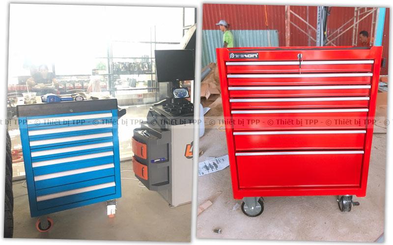 tủ đựng dụng cụ 7 ngăn, tủ dụng cụ cơ khí 7 ngăn, tủ đựng dụng cụ sửa chữa 7 ngăn
