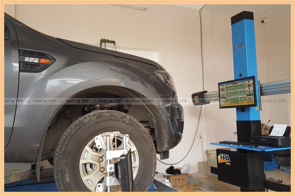 cách cân chỉnh độ chụ bánh xe