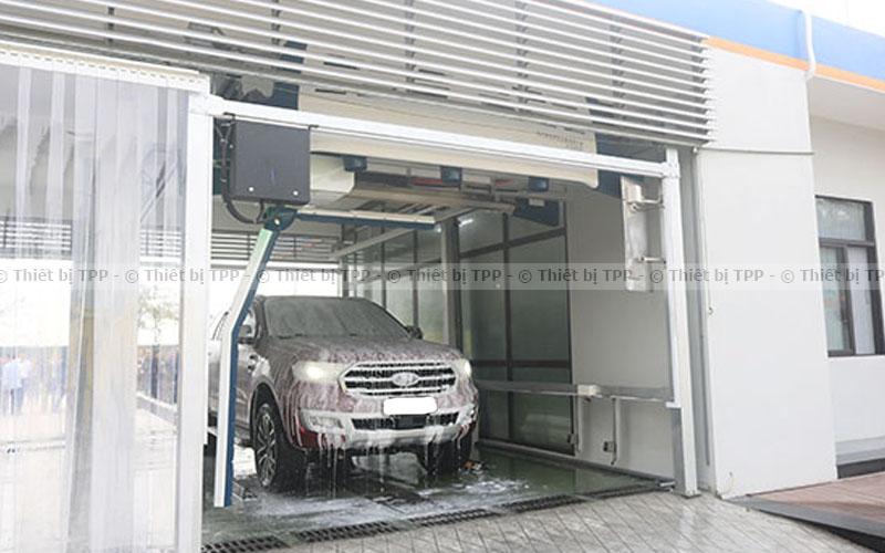 trạm rửa xe tự động, máy rửa xe tự động, máy rửa xe tự động giá rẻ