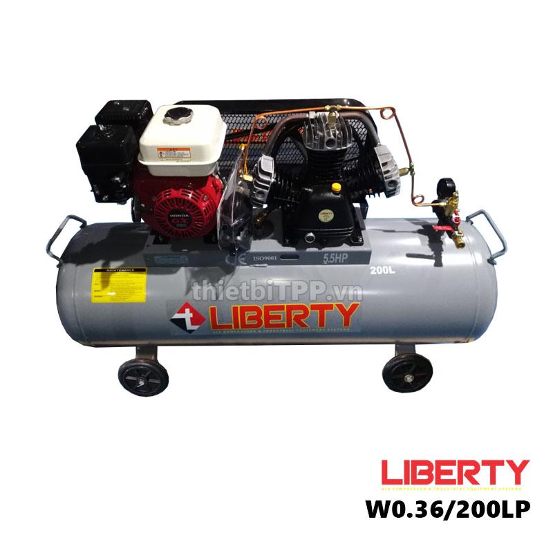 máy nén khí w0.36/200LP, máy khí khí 200 lít, máy bơm hơi giá rẻ