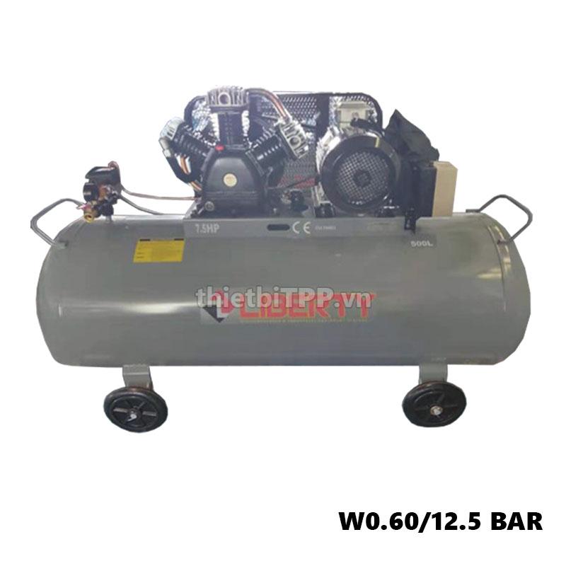 máy nén khí w0.60/12.5bar, máy nén khí liberty, máy nén khí lớn, bình khí nén, máy bơm hơi