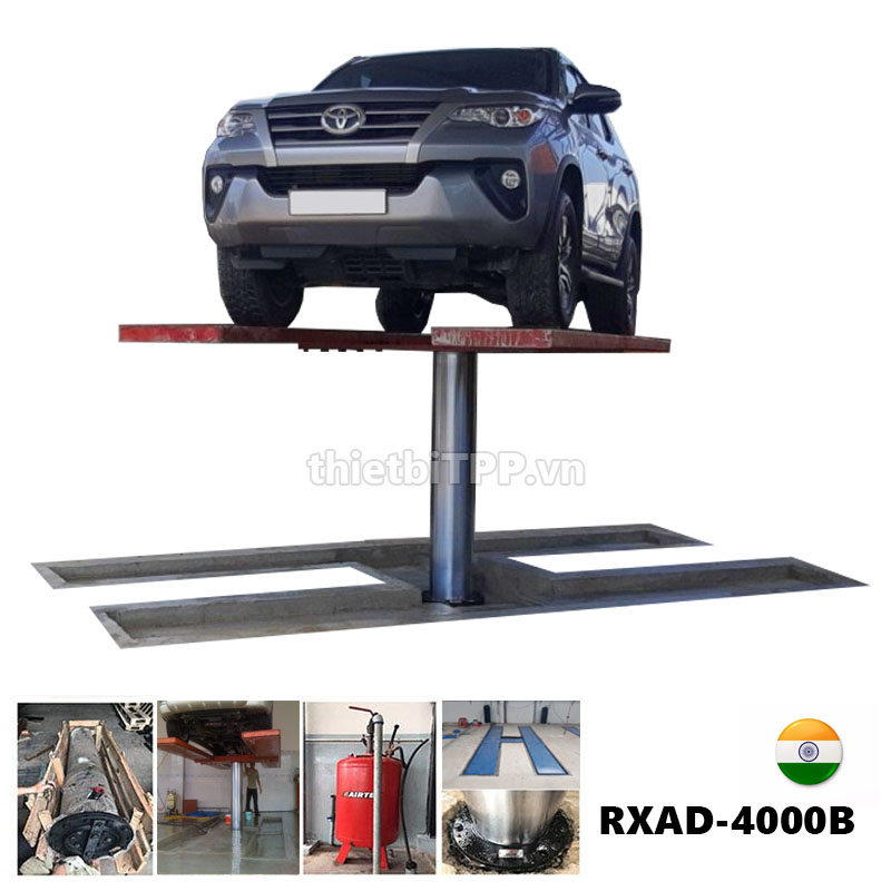 Cau Nang 1 Tru An Do Rua Xe Lap Am Nen Rxad 4000b 4 Tan Car Washing Lift India