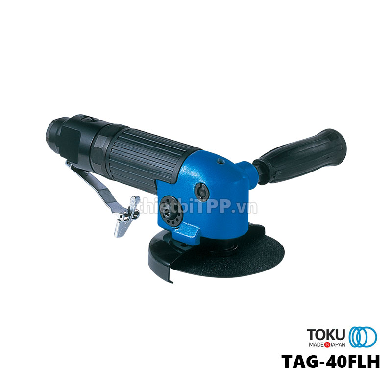 May Mai Dung Hoi Khi Nen Toku Tag 40flh 4 Inch Nhat Ban Japan Lever Type Angle Grinder