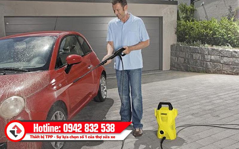 máy rửa xe gia đình giá tốt, máy phun xịt rửa xe gia đình, máy phun rửa áp lực gia đình
