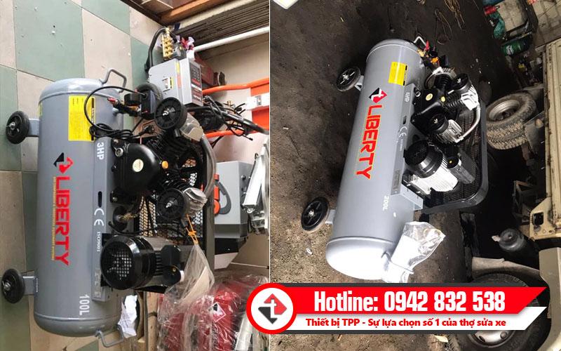 máy nén khí 3hp, máy nén khí 4hp, máy bơm hơi khí nén, máy nén khí giá rẻ