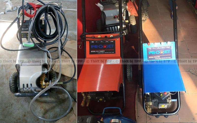 máy rửa xe ô tô projet p22, máy rửa xe máy, máy xit phun rửa xe giá rẻ, máy phun xịt rửa xe cao áp