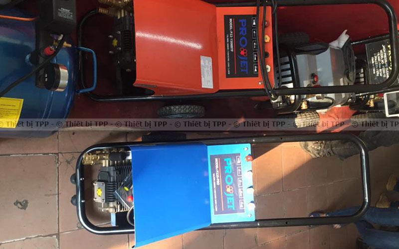 máy rửa xe projet p22, máy rửa xe máy, máy rửa xe ô tô, máy rửa xe áp lực lớn