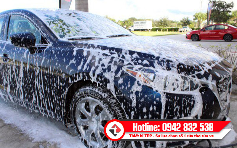 rửa xe không chạm, công nghệ rửa xe hiện đại, rửa xe áp lực lớn