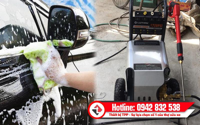 rửa kính ô tô, máy rửa xe cao áp giá rẻ, máy phun xịt rửa xe áp lực lớn