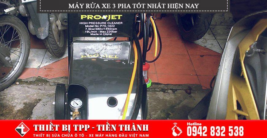 máy rửa xe 3 pha, máy rửa xe cao áp 3 pha, máy phun xịt rửa xe áp lực lớn 3 pha, máy rửa xe 3 pha giá rẻ