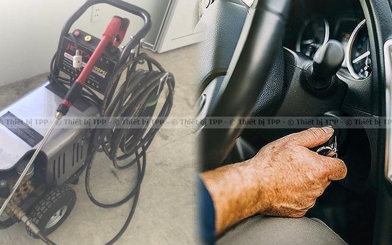 Xe ô tô bị rung giật do một số bộ phận, máy rửa xe cao áp, máy rửa xe áp lực cao, máy phun xịt rửa xe