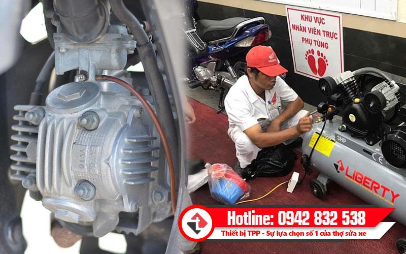 Cần chú ý tới các bộ phận làm mát của xe máy, bình bơm hơi giá rẻ, bình hơi giá tốt, máy bơm hơi các loại