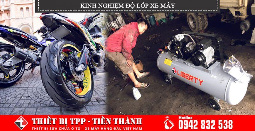 Kinh nghiệm độ lốp xe máy, độ lốp xe máy hiệu quả, độ lốp xe máy hiệu quả tốt
