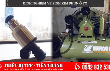 Kinh nghiệm vệ sinh kim phun ô tô, các cách vệ sinh kim phun ô tô, bảo quản kim phun ô tô