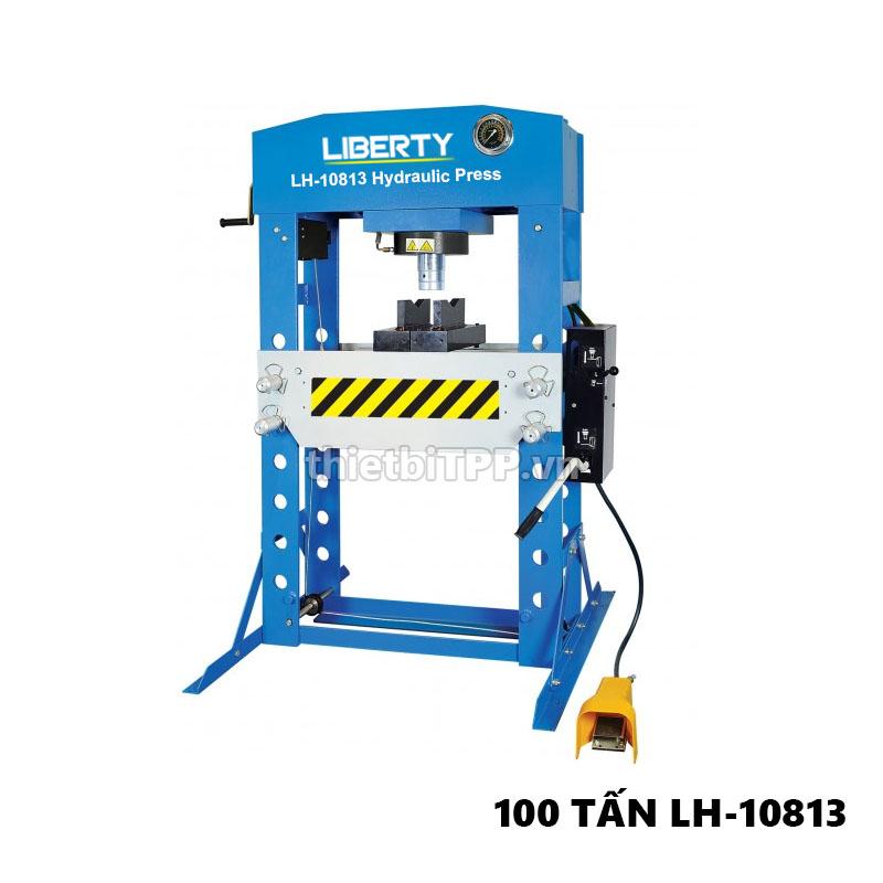 lh10813, máy ép thủy lực 100 tấn, máy ép vòng bi thủy lực, máy ép thủy lực bằng điện