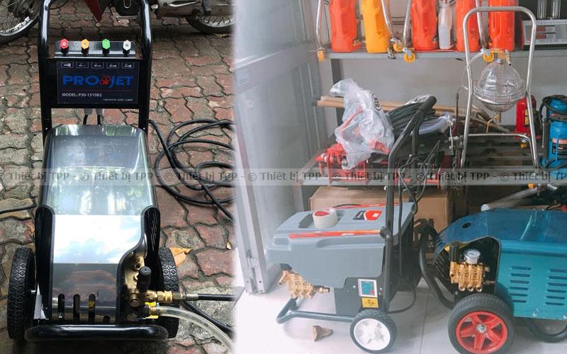 máy xịt phun rửa xe áp lực lớn, máy rửa xe máy, máy rửa xe ô tô