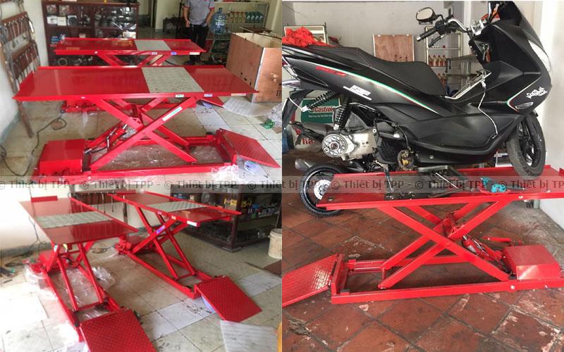 bàn nâng điện cơ, bàn nâng xe máy cơ điện, bàn nâng xe gắn máy cơ điện, bàn nâng xe ga điện cơ, bàn nâng sửa xe điện cơ